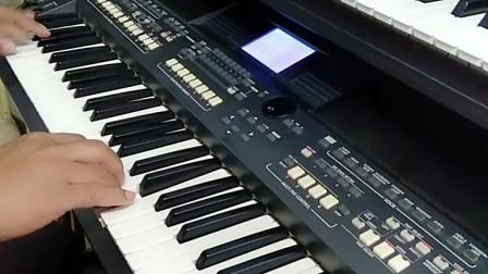 电子琴演奏《我在景德镇等你》