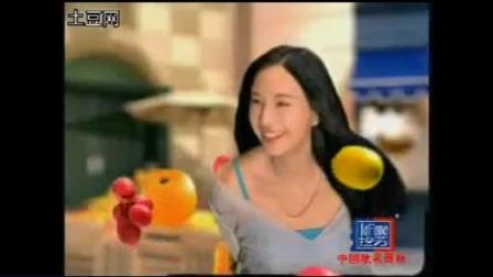 拉芳鲜果洗发露,2007年,代言人:郑希怡