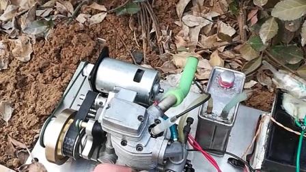 四冲甲醇发动机改汽油