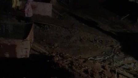 杨氏吉宅地基基础设施浇筑过程