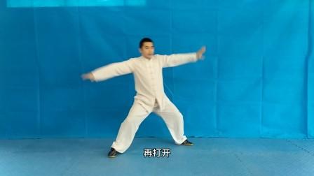 开州四维拳第三十九课 单练24式提手直入