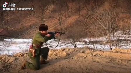 56式冲锋枪射击!