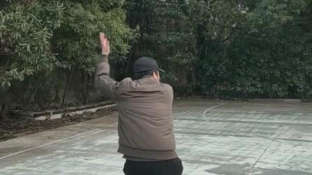 刚猛爆裂八极拳  南昌八极拳传人唐强老师演练