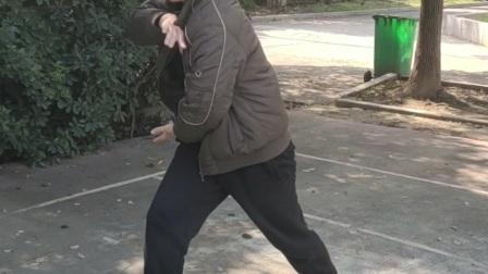 八极拳唐强老师讲解八极拳的基础发力