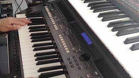 电子琴演奏《长城长》网络教学 18953384986