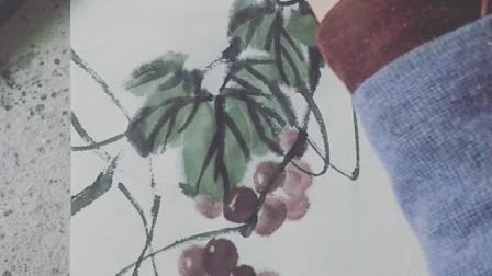 接上一集葡萄的畫法