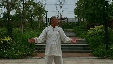 健身气功八段锦 表演:杨建国