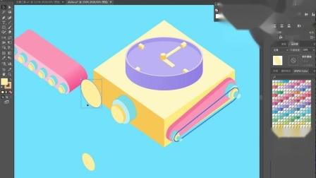 【AI立体插画】第06课上:产品插画