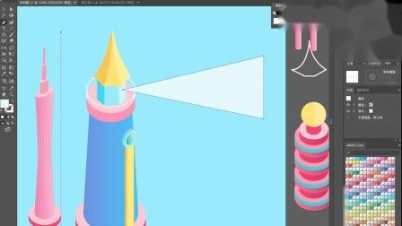 【AI立体插画】第07课下:建筑绘制方法