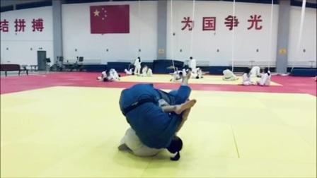 奥东武道柔道俱乐部曾庆东教练技术动作示范系列