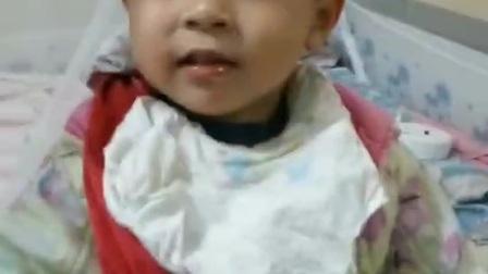 姐姐邱夏琳给弟弟邱意扬(两岁)录的尖叫小视频