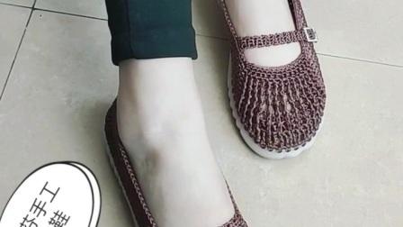 妈妈凉鞋 小芬手工钩鞋