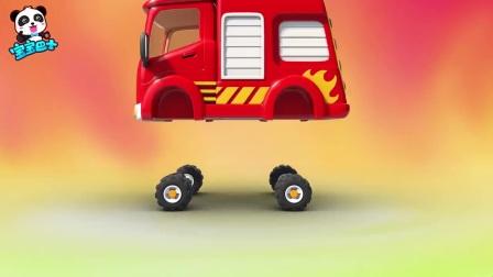 我在10 消防车出任务截取了一段小视频