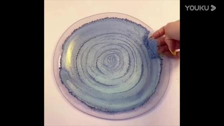 用珠光粉染透泰,再摊个煎饼,戳起来超解压,异常满足无硼砂