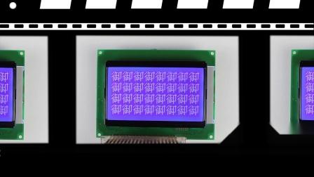 Monochrome LCD Modules / VBG120606-A(BL)