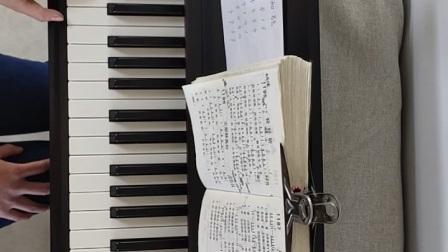 弹琴视频(十三)