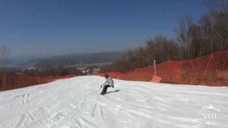 20200306鳌山滑雪场雪质感人