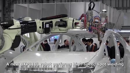 iREX2019 川崎机器人展位全景