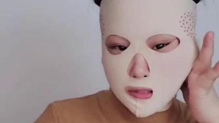 如何戴全脸面雕视频
