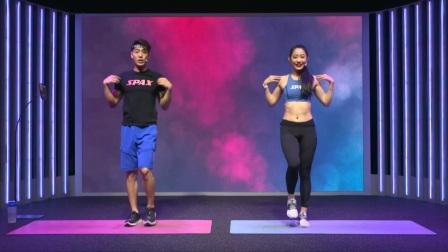 热身运动伴随音乐,身体已经蓄势待发 SPAX健身 134