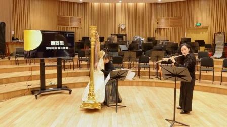 《西西里》速度徐缓曲调抒情,长笛的悠扬耐人寻味 上海爱乐乐团室内乐专场 20200411