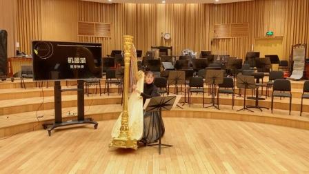 竖琴独奏《机器猫》,俏皮可爱唤醒童年 上海爱乐乐团室内乐专场 20200411