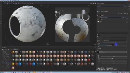 C4D科幻战争场景渲染-OC渲染
