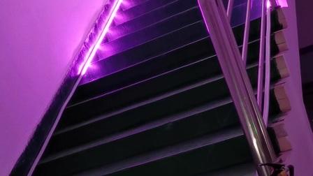 网红楼梯灯!!