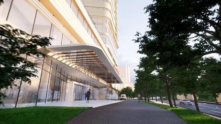 Enscape建筑动画小试-某医院室外动画-室外路径漫游