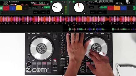 先锋Pioneer DDJ SB3 - Bass House vs Trap混音手法演示