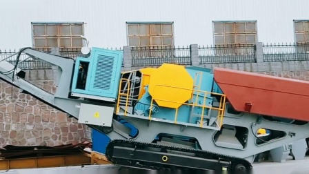 郑州一帆履带移动站装货发往客户现场