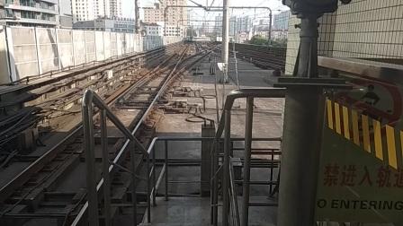 343号车江杨北路方向中山公园进站