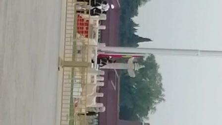 天安门广场升国旗仪式