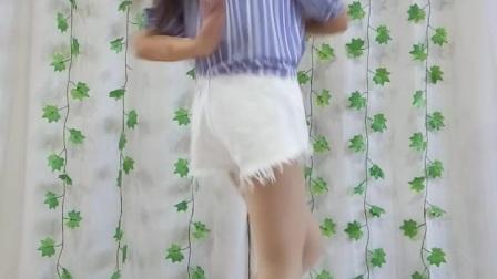 阿文樂樂广场舞、竖屏《为自己干杯》DJ何鹏版、这个可以当做晨练哦!