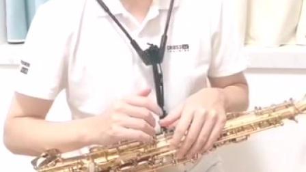 一招教你把萨斯吹好听,第1招回音。