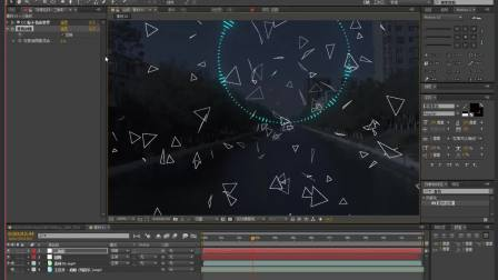 【AE教程】一个很有趣的AE光影特效,很嗨噢!~~