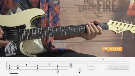 【练习8】重金属节奏吉他第二册示范演奏