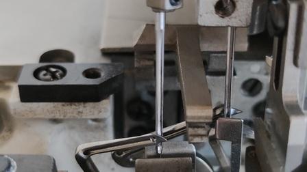 永滔床垫机械 锁边各个弯针的行程位置参考