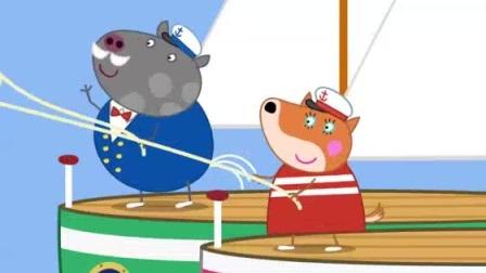 我在兔爷爷的气垫船 Grampy Rabbit's Hovercraft截了一段小视频
