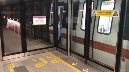 深圳地铁5号线(环中线)253车黄贝岭方向布吉出站