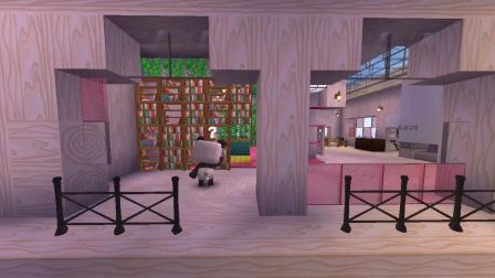 迷你世界:大表哥制作了传送门,居然来到了上帝的家