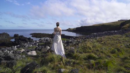 非目环球旅拍:主持人沈涛冰岛婚纱照1min预览