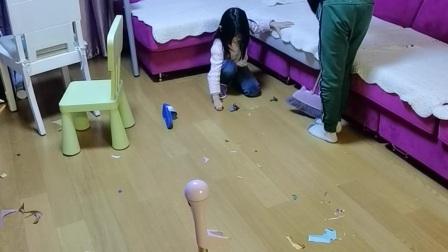 疫情期间在家打扫卫生