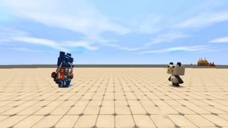 """迷你世界:大表哥意外发现""""赛博坦之心"""",成功启动擎天柱真身.mp4"""