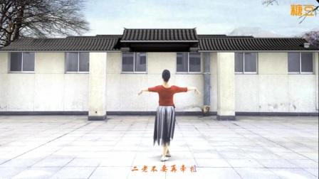 《记得咱的家》广场舞背面教学