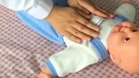 宝宝排气操