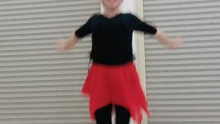 会昌麻州广场舞(又见山里红)入门简单健身操