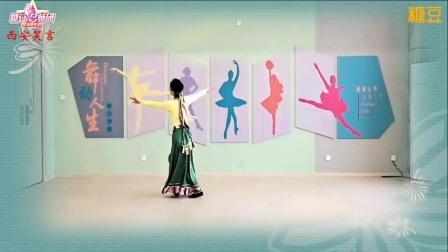 《我的九寨》广场舞背面教学