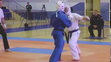 头撞力摔,空道武技很强大!
