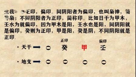 八字自学第11课十神,从零开始,学会八字